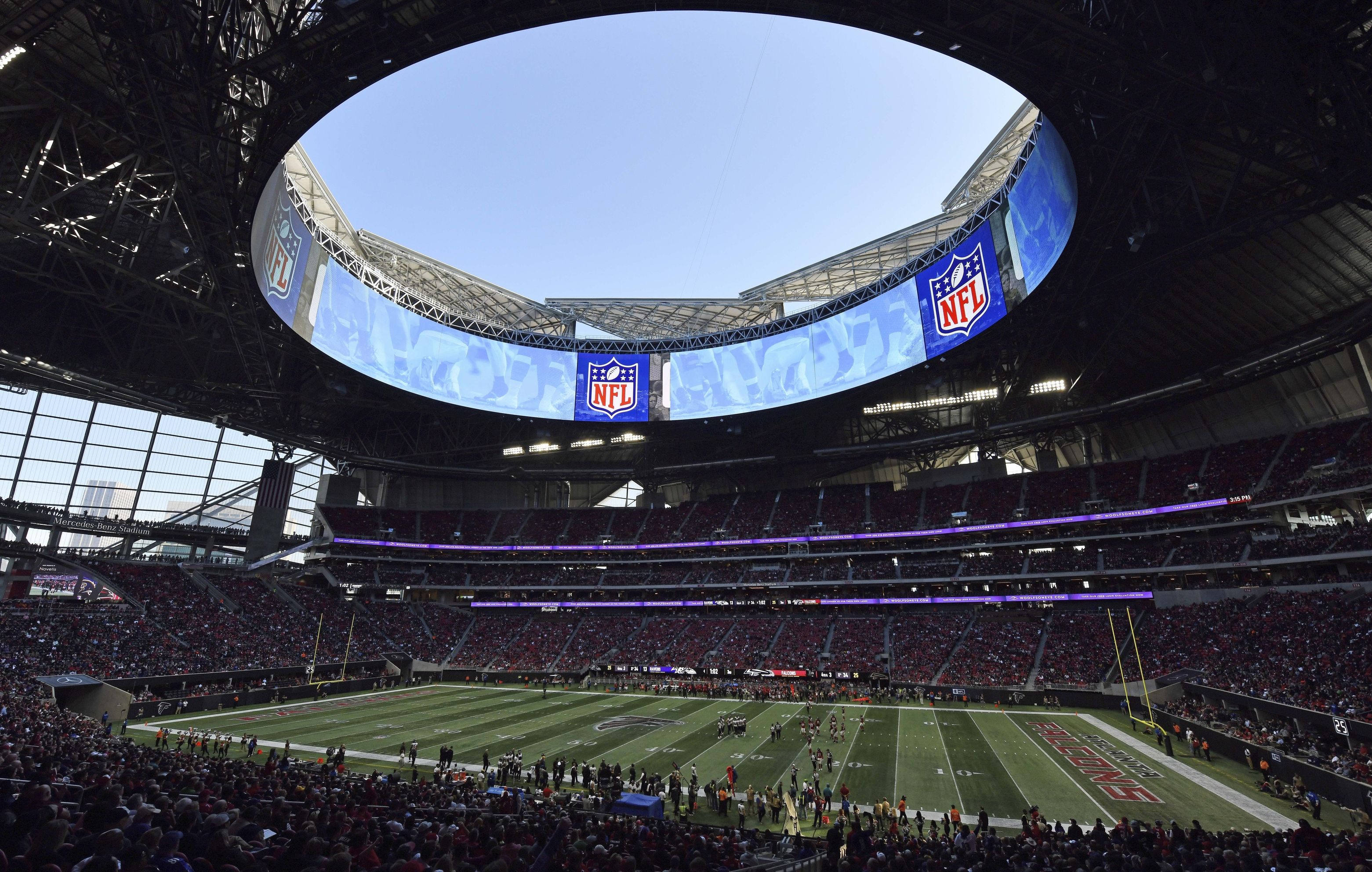 Super Bowl 2019 Will Mercedes Benz Stadium Roof Be Open For Patriots Vs Rams Weather Forecast Super Bowl 53 Nj Com