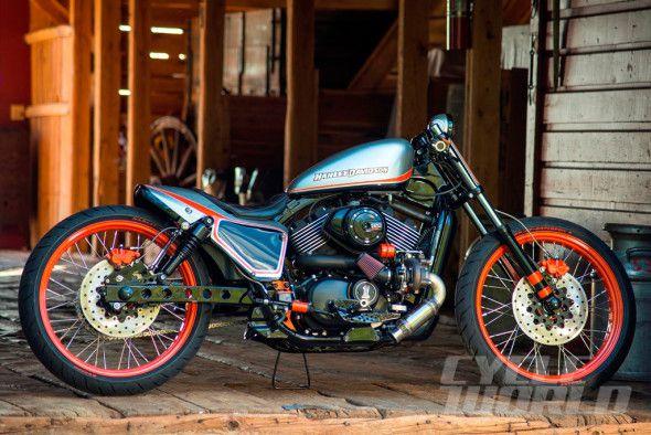 "Yellowstone Harley's Custom Street 750 Motorcycle - ""Barn Find"