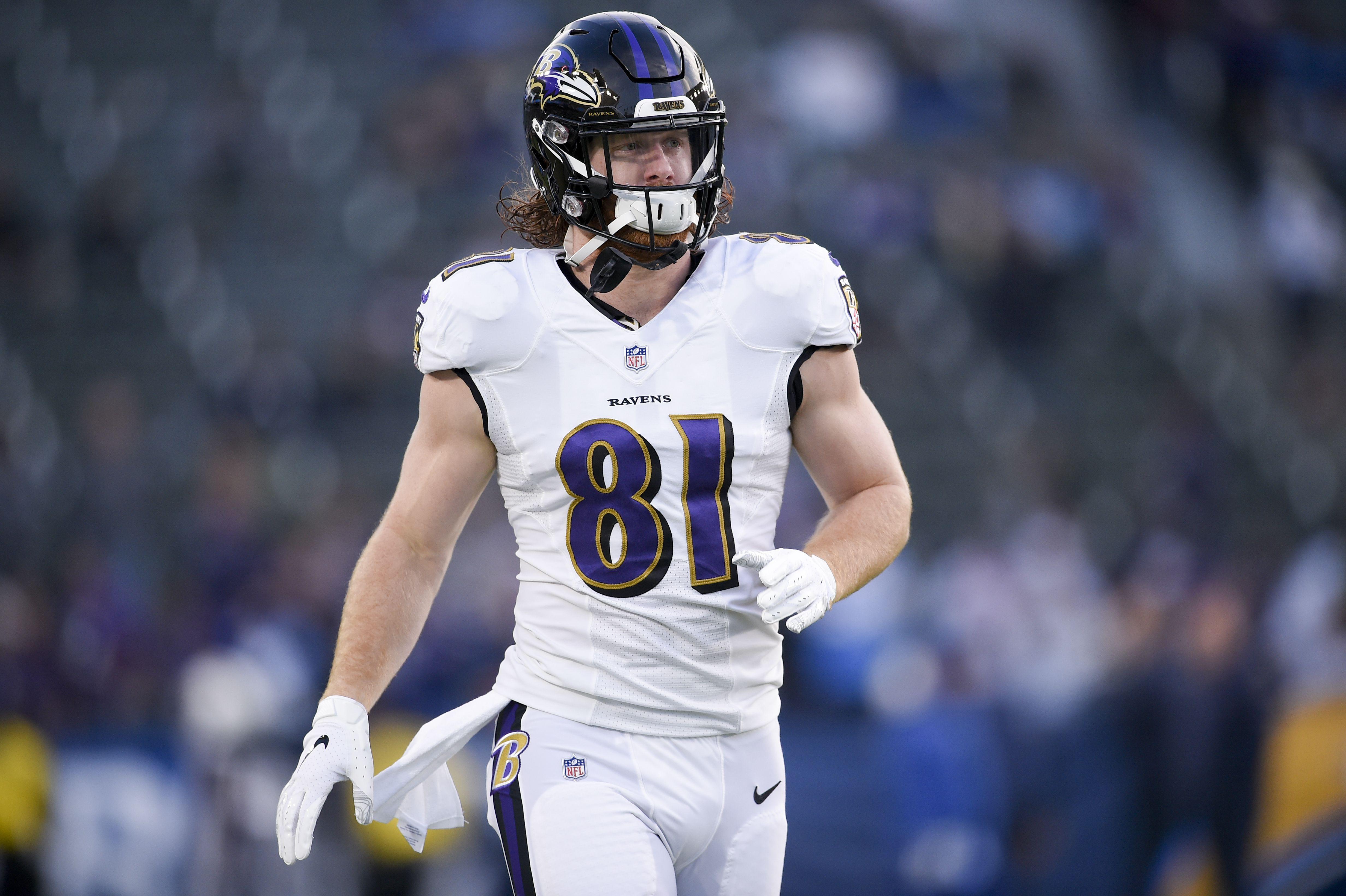 Baltimore Ravens hope for a confident Hayden Hurst, Brandon Carr ...