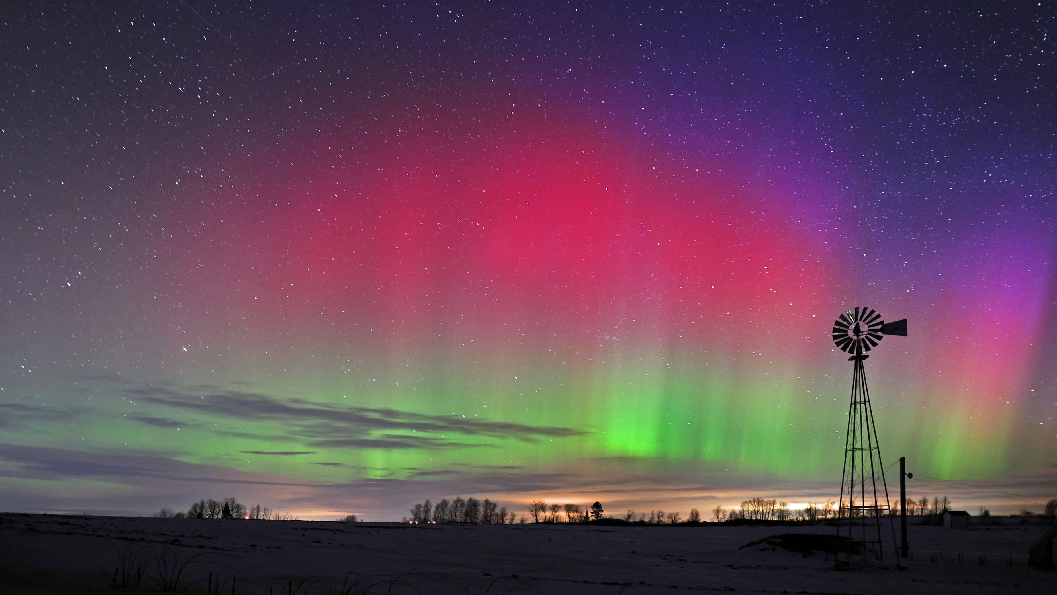 Viewing Aurora Borealis In Aroostook County Maine The Boston Globe