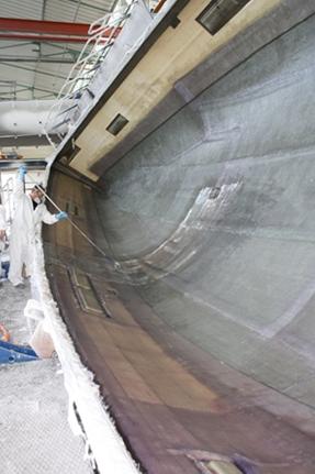 How It's Made: Fiberglass Hulls | Cruising World