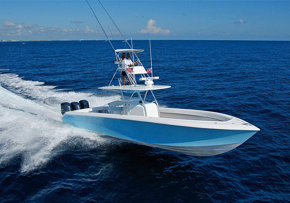 Top 50 Modern Center Console Fishing Boats Salt Water