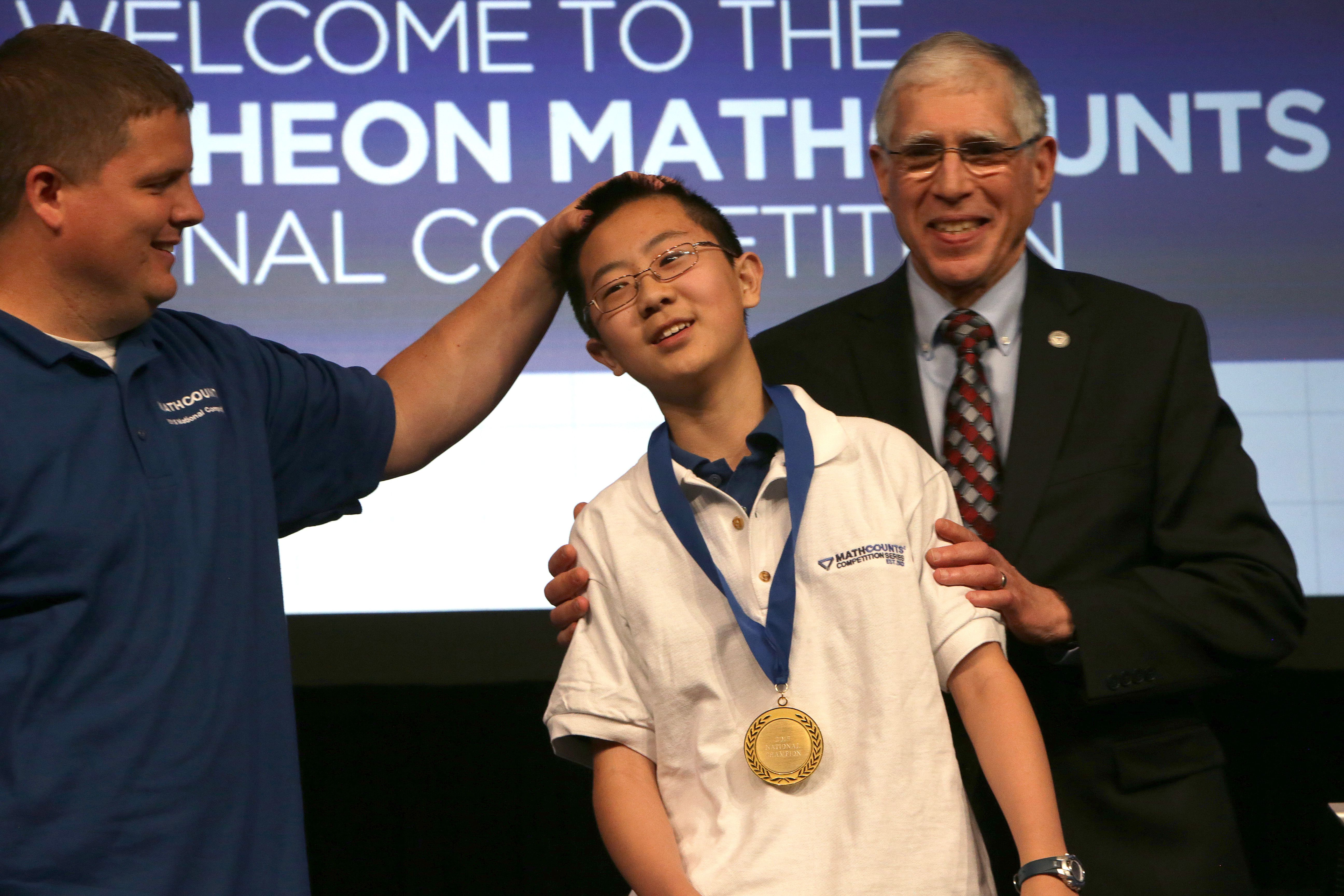 Students make it to 'Super Bowl of adolescent math' - The