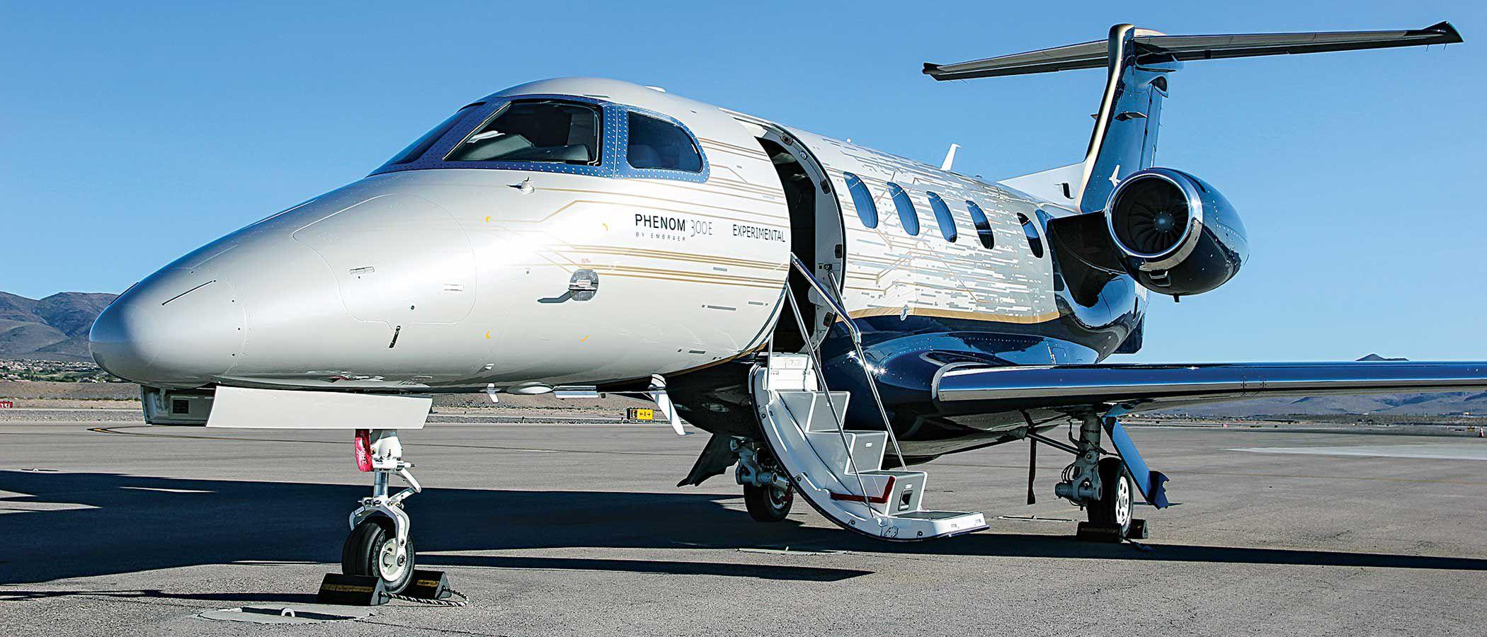 Inside the Embraer Phenom 300E | Flying