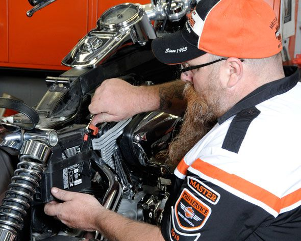 Harley-Davidson Presents 'Battery Maintenance Tips for Motorcycle
