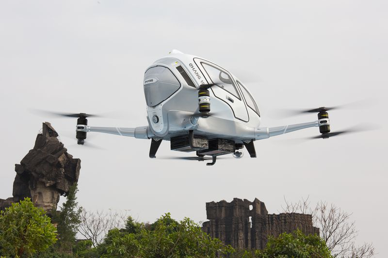 This people-moving drone has completed more than 1,000 test