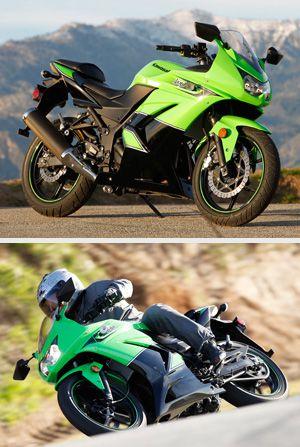 Kawasaki Ninja 250R vs  Honda CBR250R Review- Sportbike