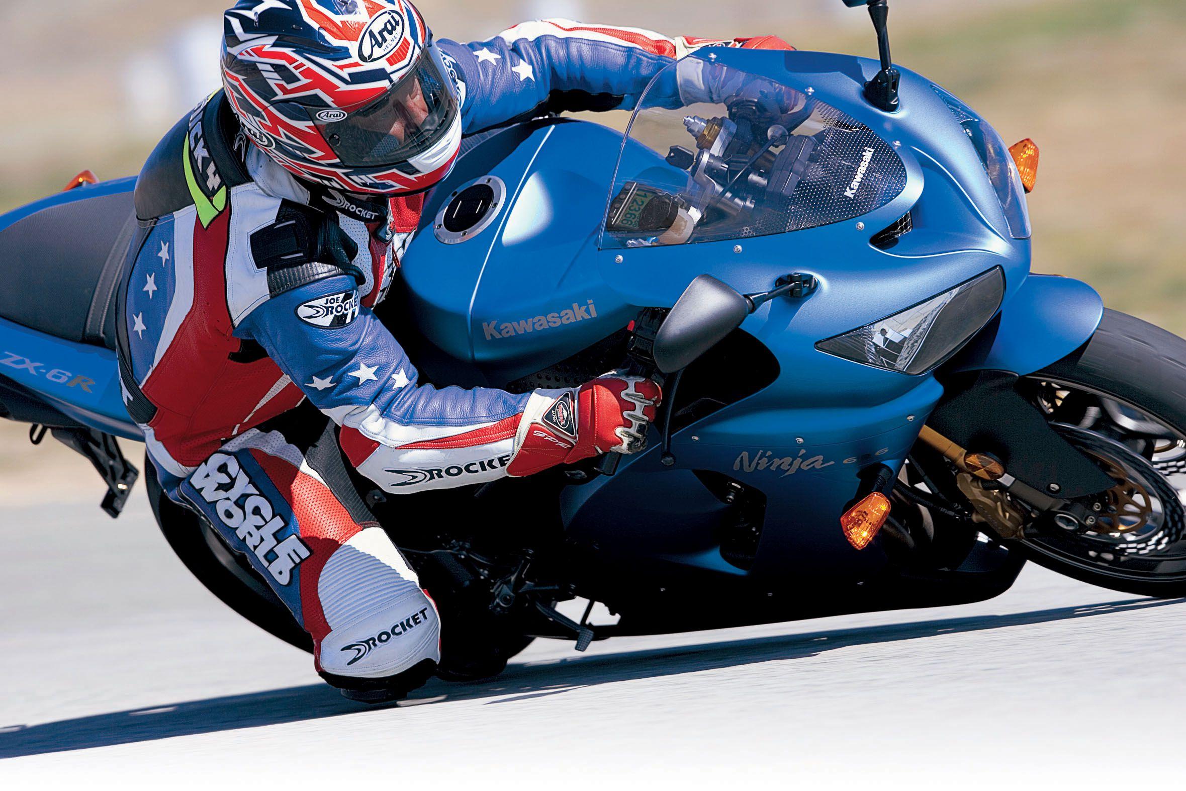 Honda Cbr600rr Vs Kawasaki Zx 6r Vs Suzuki Gsx R600 Vs Triumph