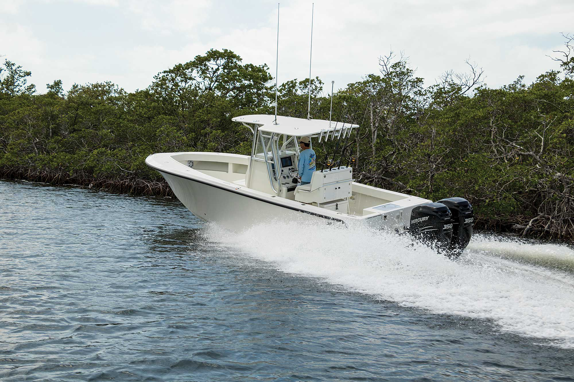 SeaVee 290B Boat Test   Boating Magazine