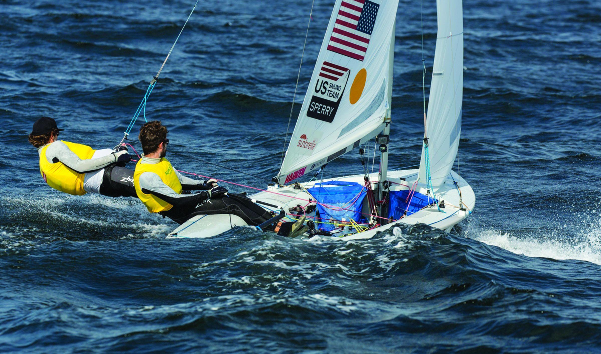Proper Trapeze Technique   Sailing World