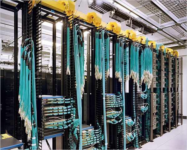 A Look Inside the Data Centers of