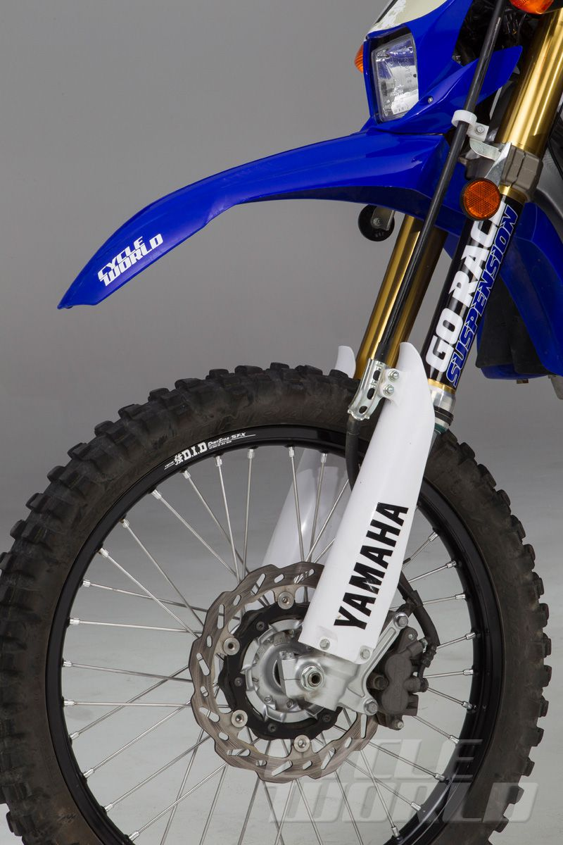 Yamaha WR250R Dual Purpose Adventure Bike Modification