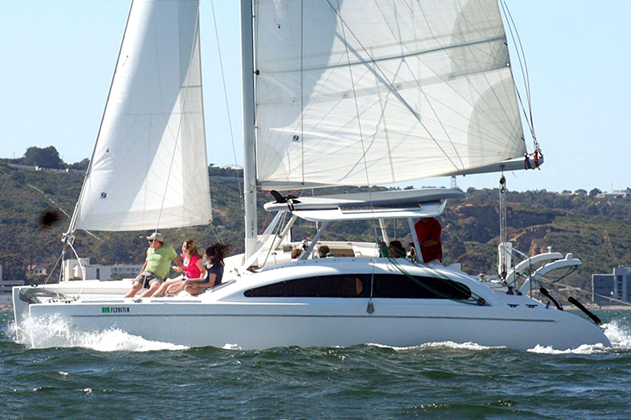 40 Best Sailing Catamarans and Trimarans, Cruising