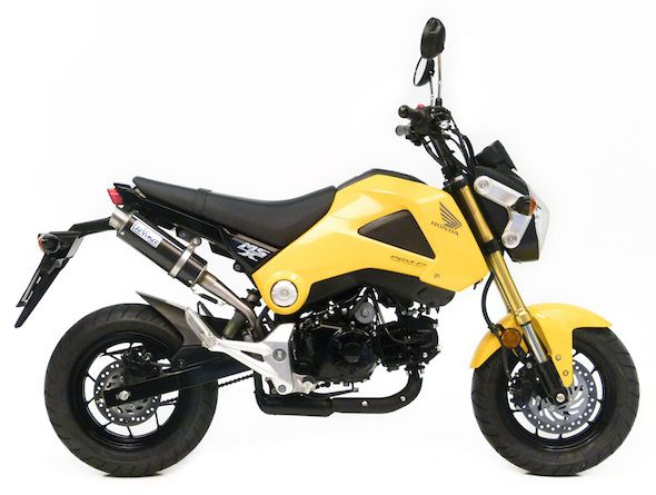 LeoVince USA Launches Slip-on Exhaust for the Honda From 125