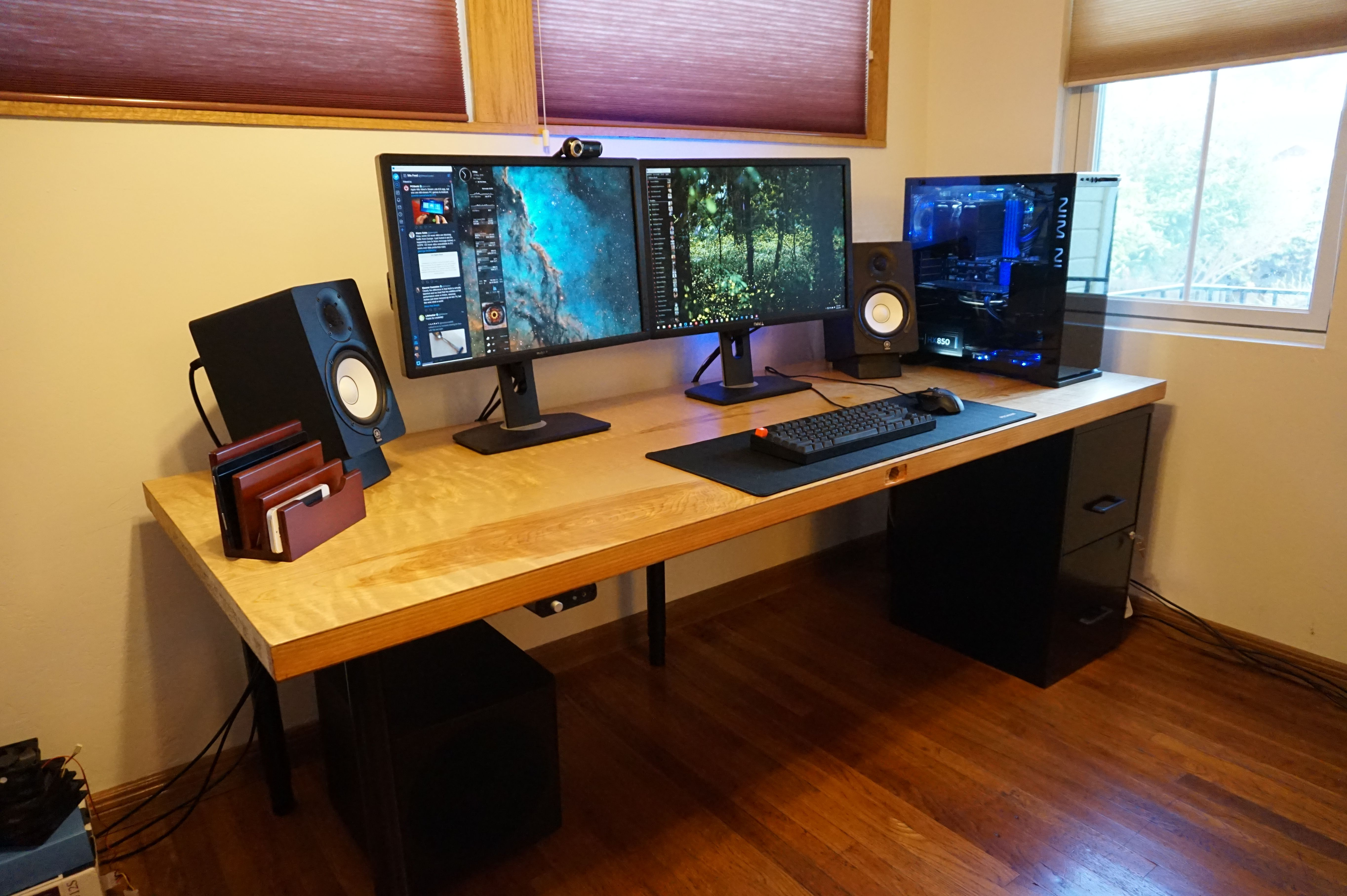 Save Hundreds Of Dollars On A Custom Computer Desk By