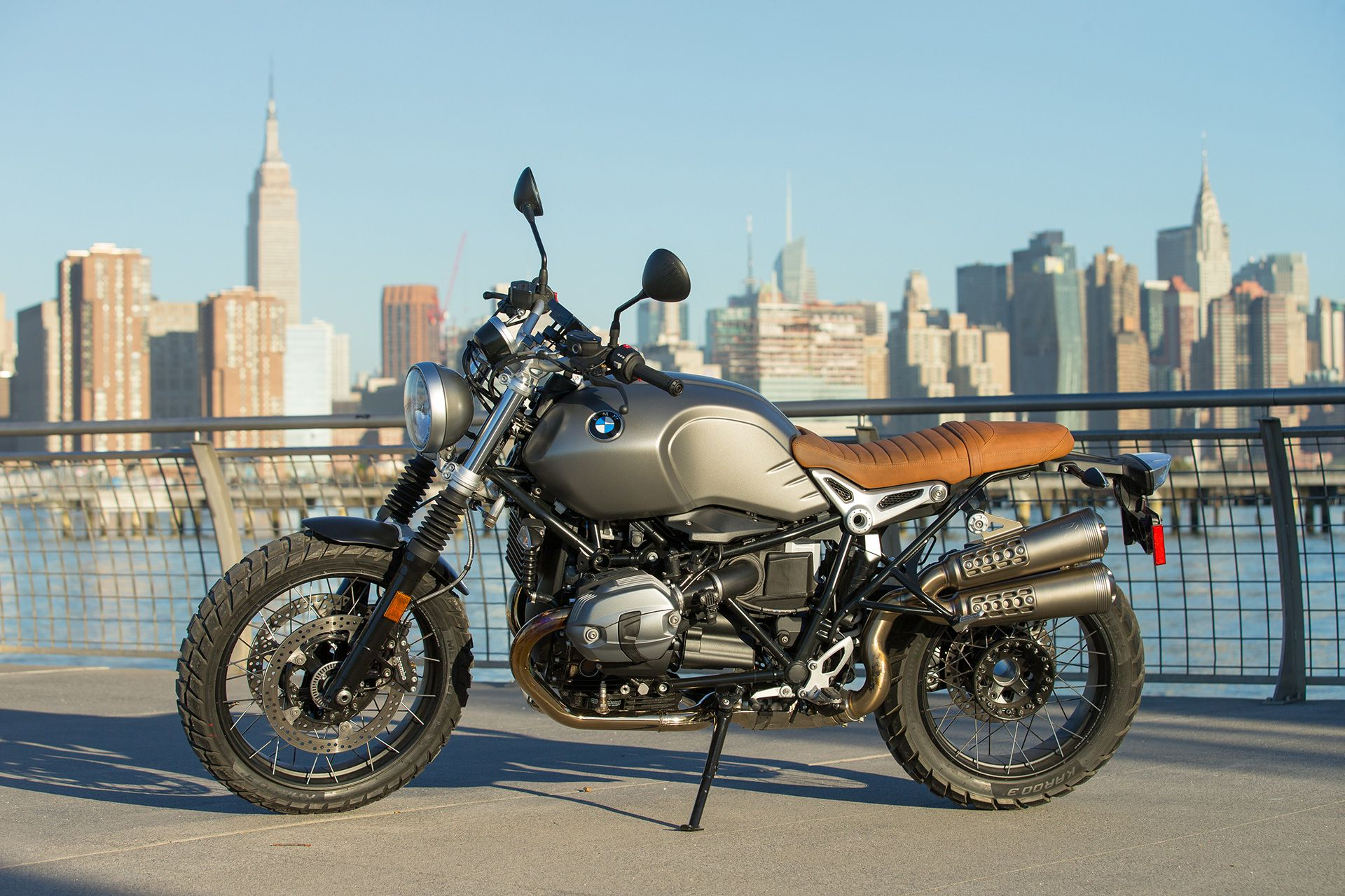 BMW R nineT Scrambler First Ride Motorcycle Review | Cycle World
