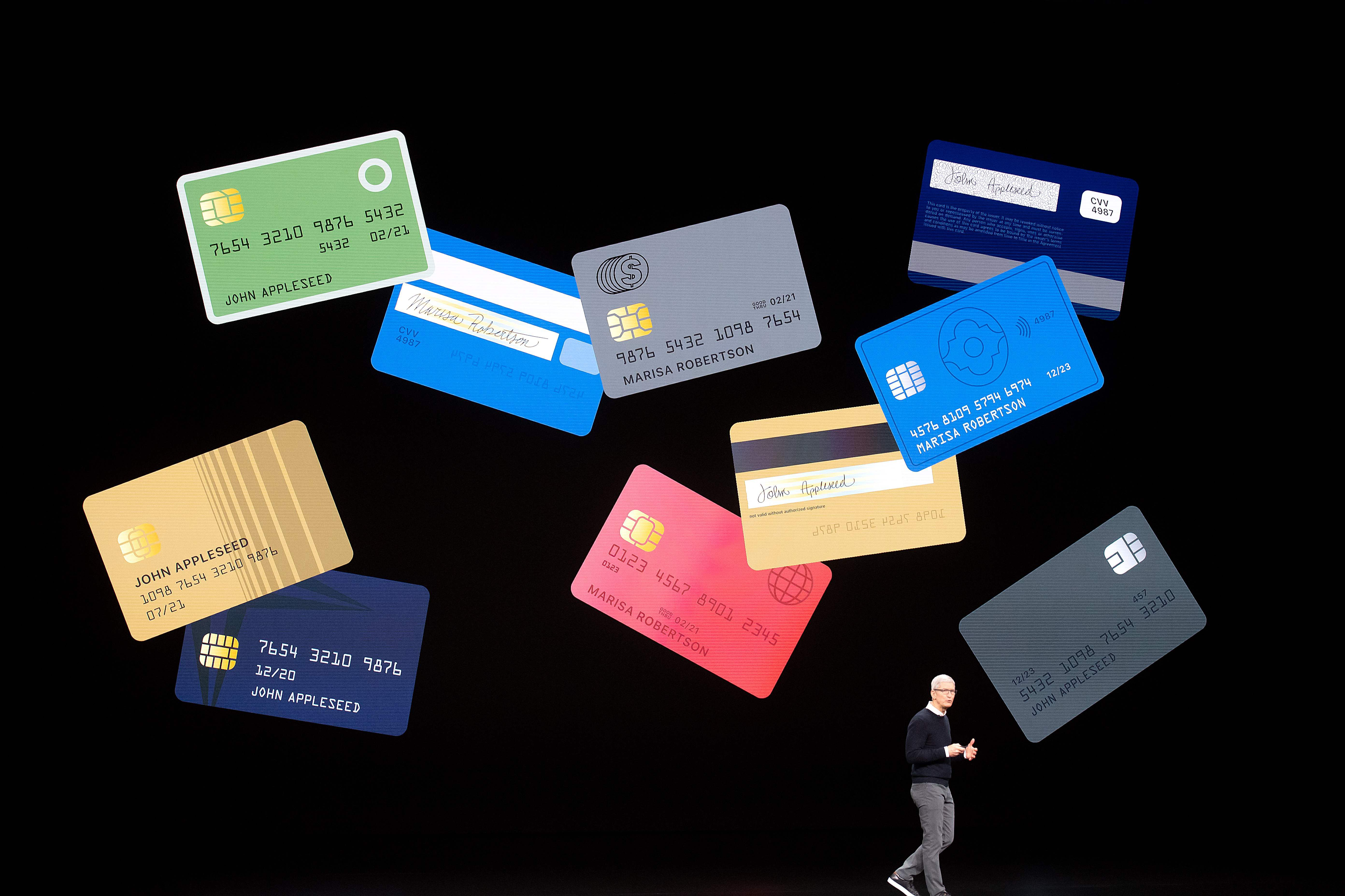 Apple launches new entertainment and financial services