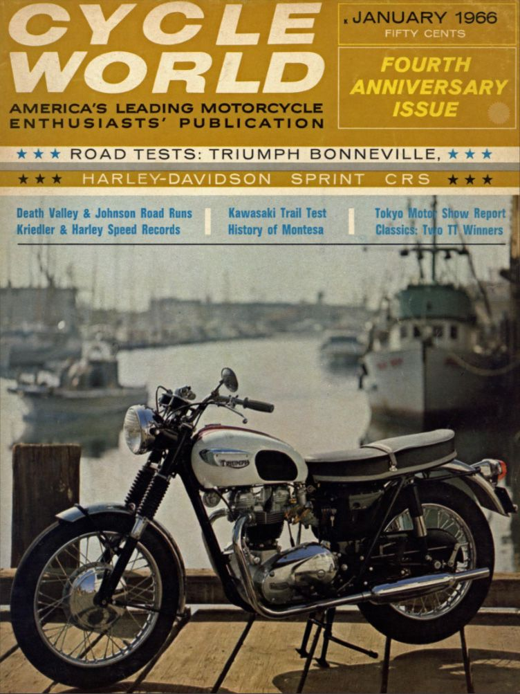 Original Triumph Bonneville Motorcycle History, CLASSICS REMEMBERED