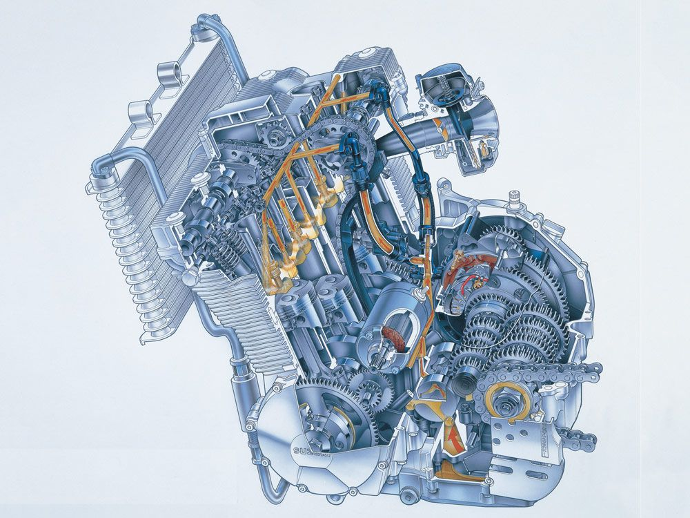 How A Motorcycle Engine Works   Cycle World