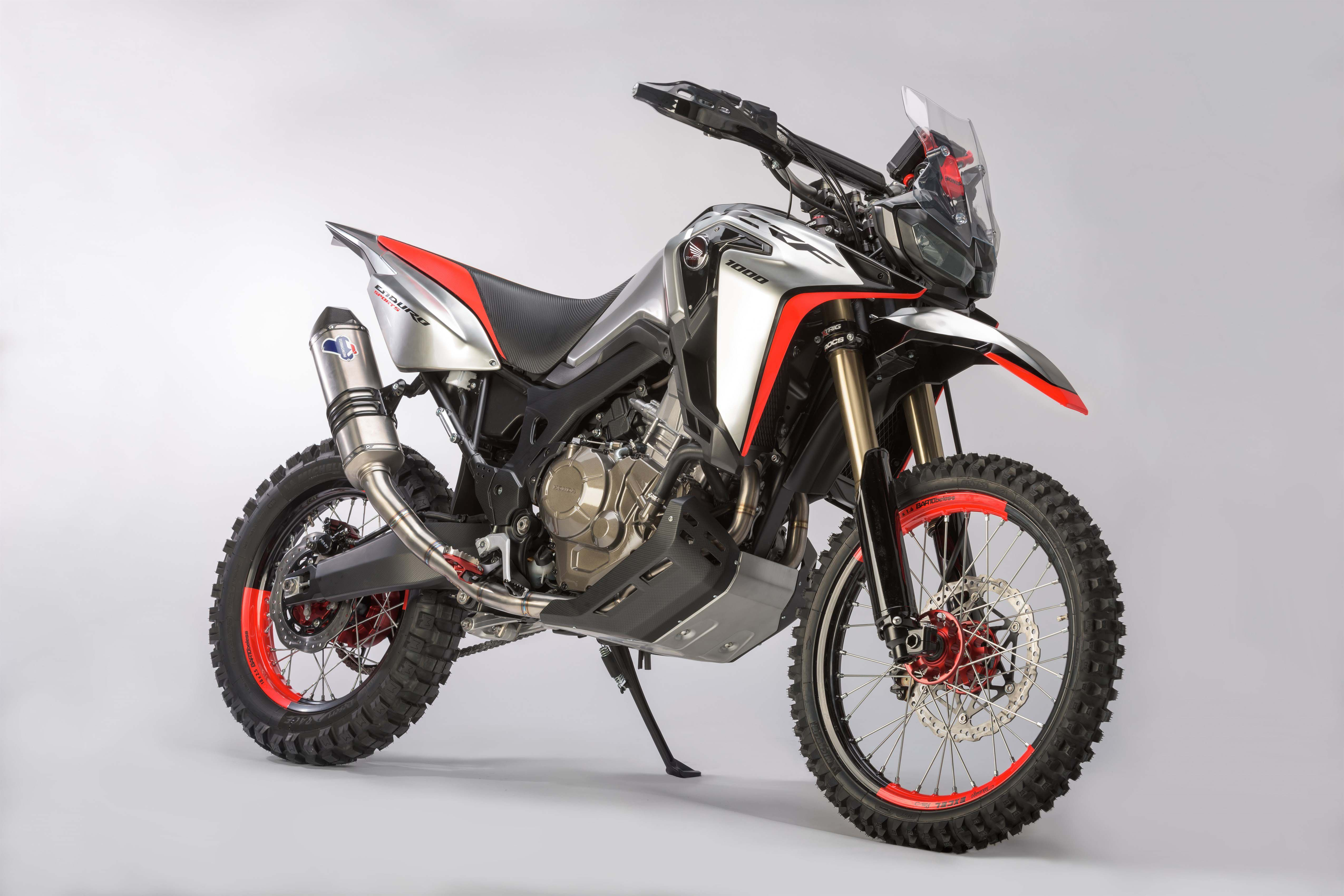 The Honda Africa Twin Enduro Concept Is A Giant Dirt Bike