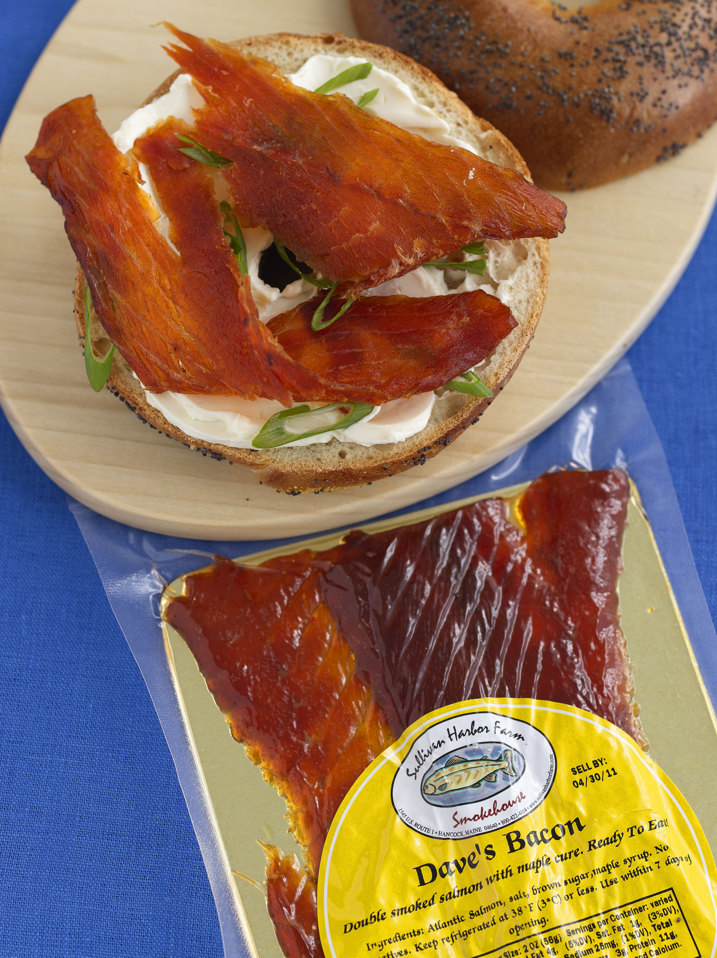 Salmon bacon adds sizzle to breakfast - The Boston Globe