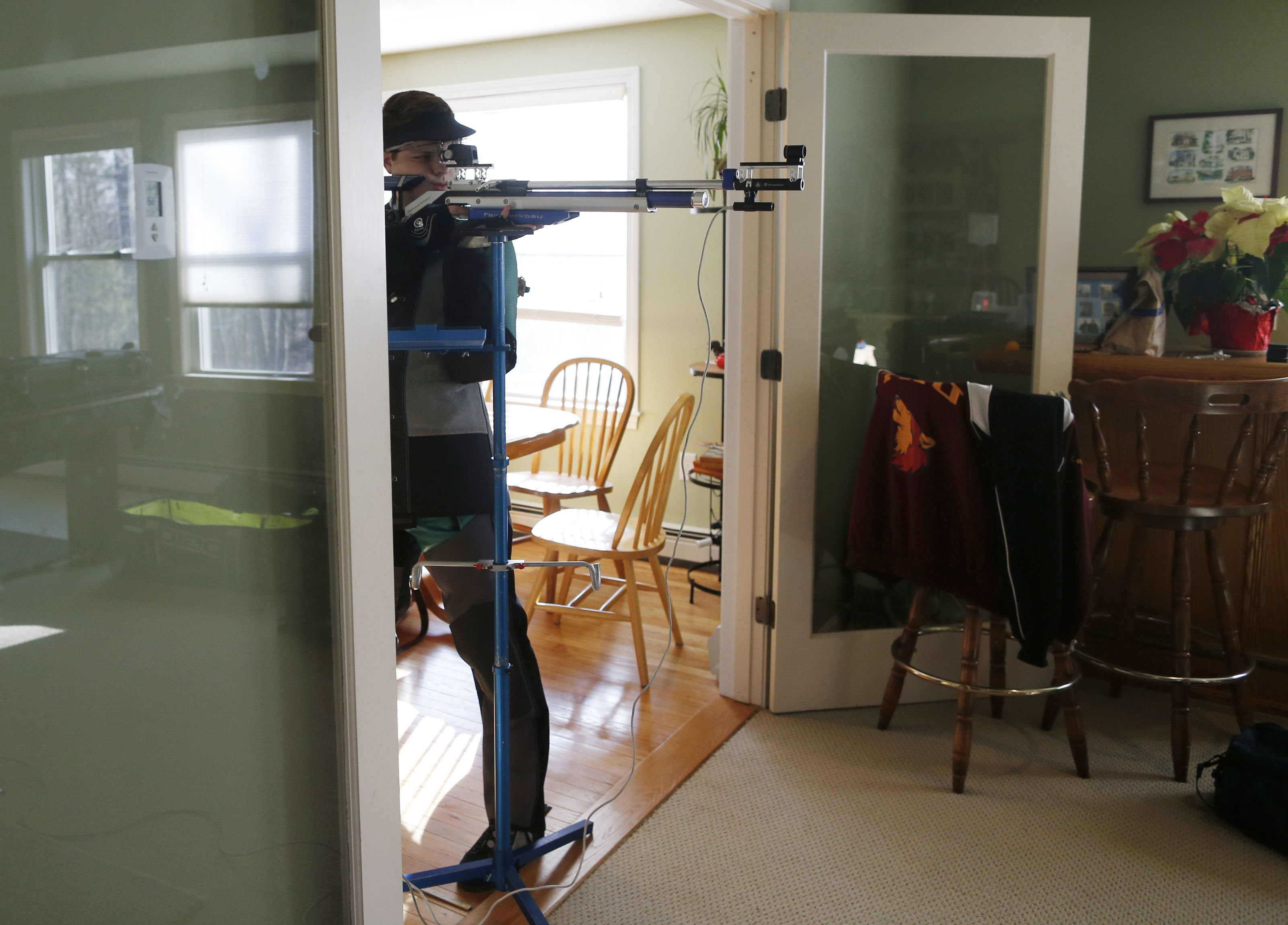 Gun controversy lost on new shooting stars - The Boston Globe