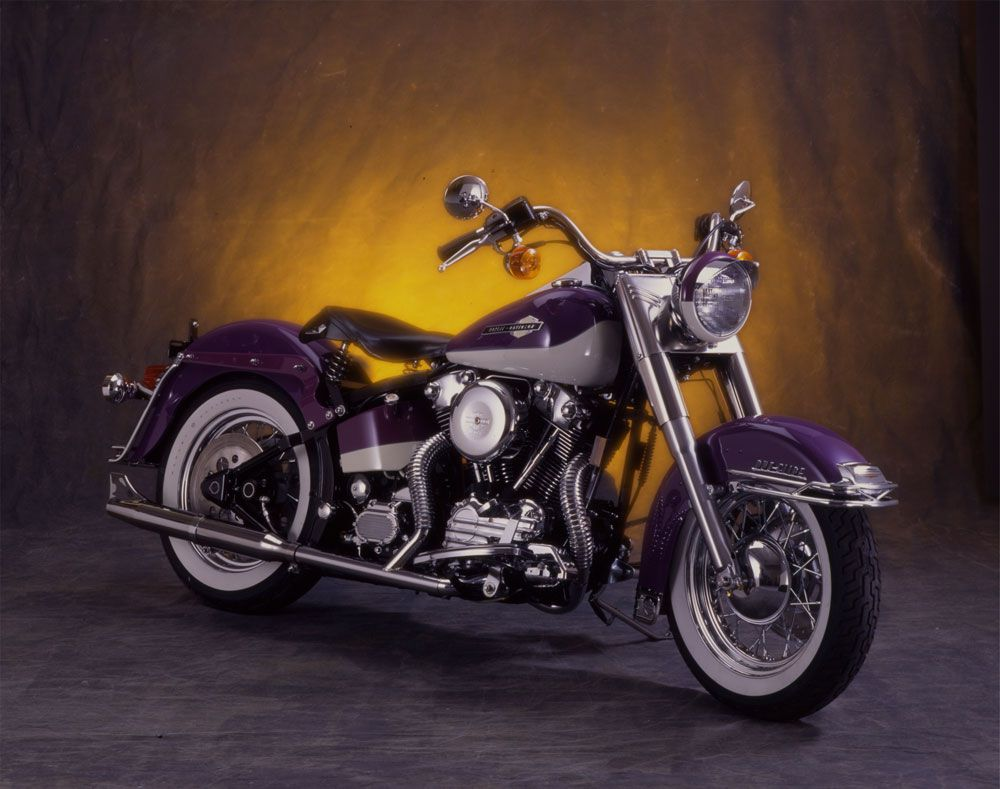 This 1997 Harley-Davidson Fat Boy Has Some Fat Knuckles