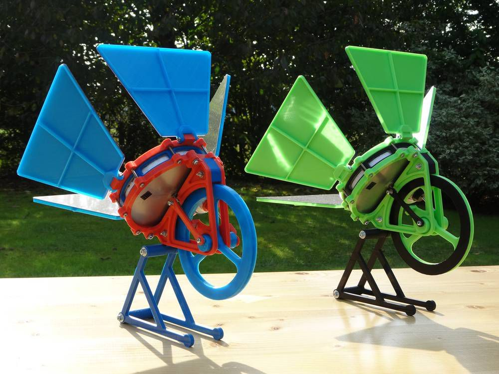 This Solar-Powered Engine Can Be Made With A 3D Printer | Popular