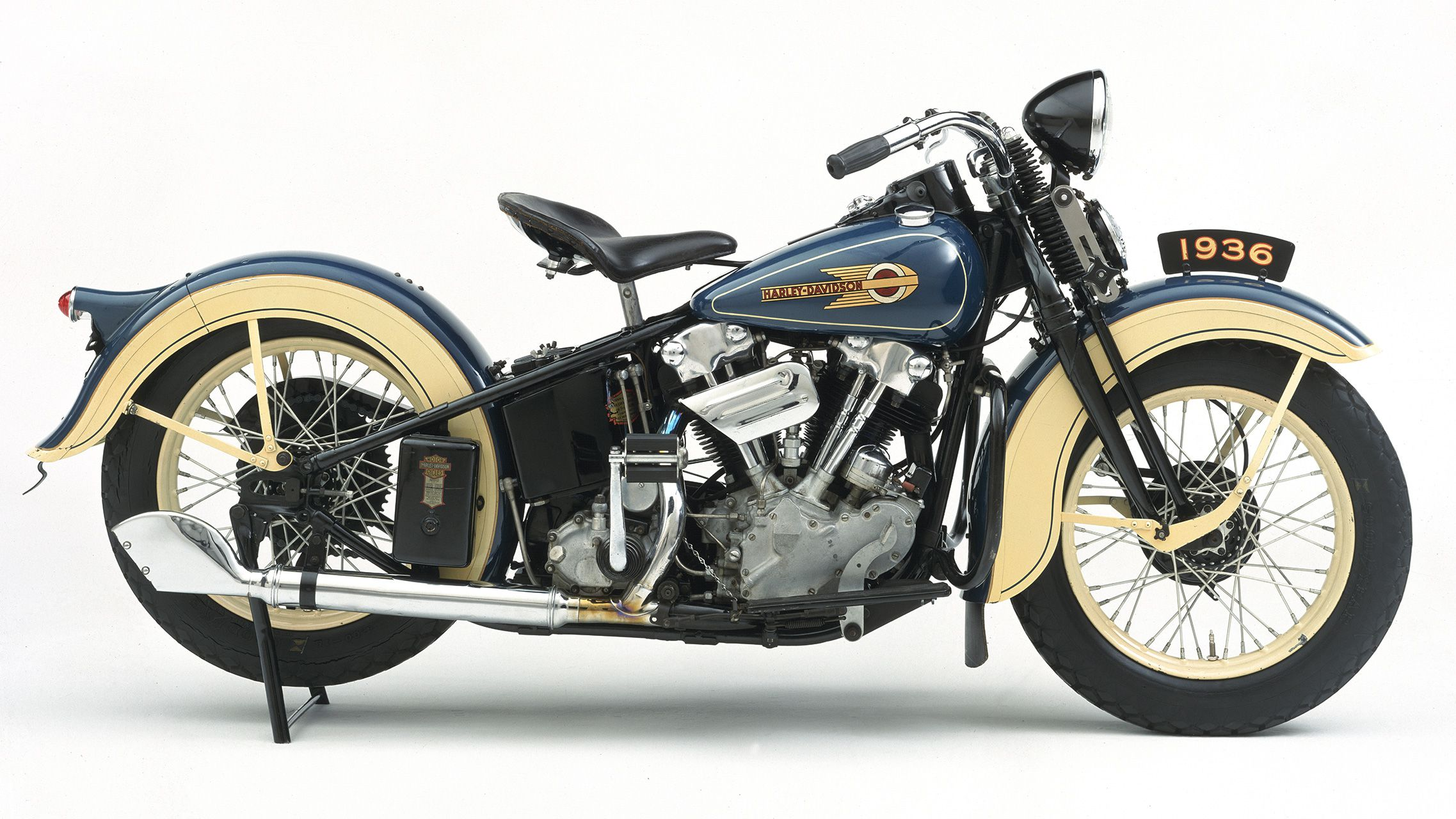 Harley Davidson Knucklehead V Twin Motorcycles History Of The Big