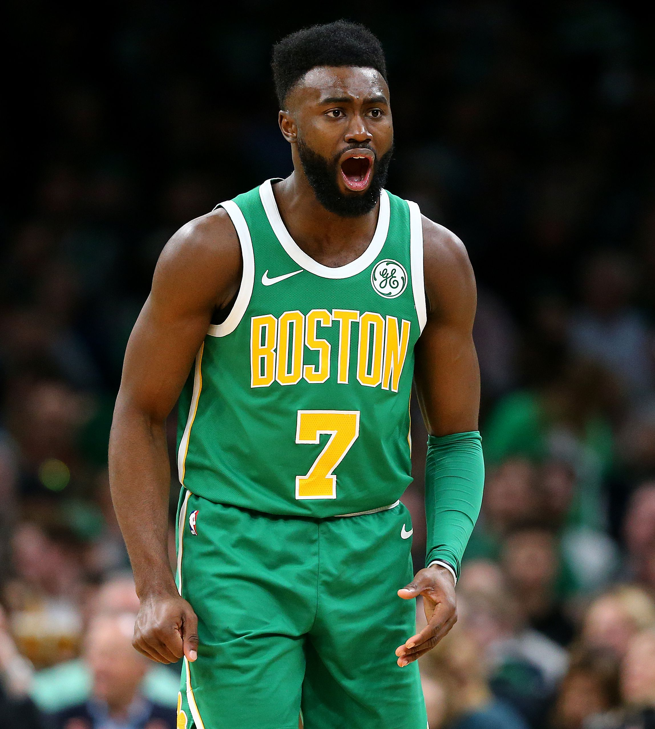 online retailer f4830 7370f Celtics' Jaylen Brown ready to pick up slack for Marcus ...