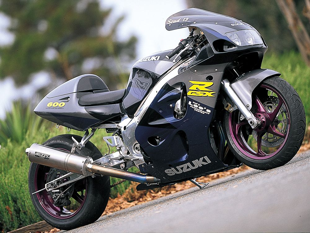 From the SR Archives: Baby 'Busa!   Cycle World