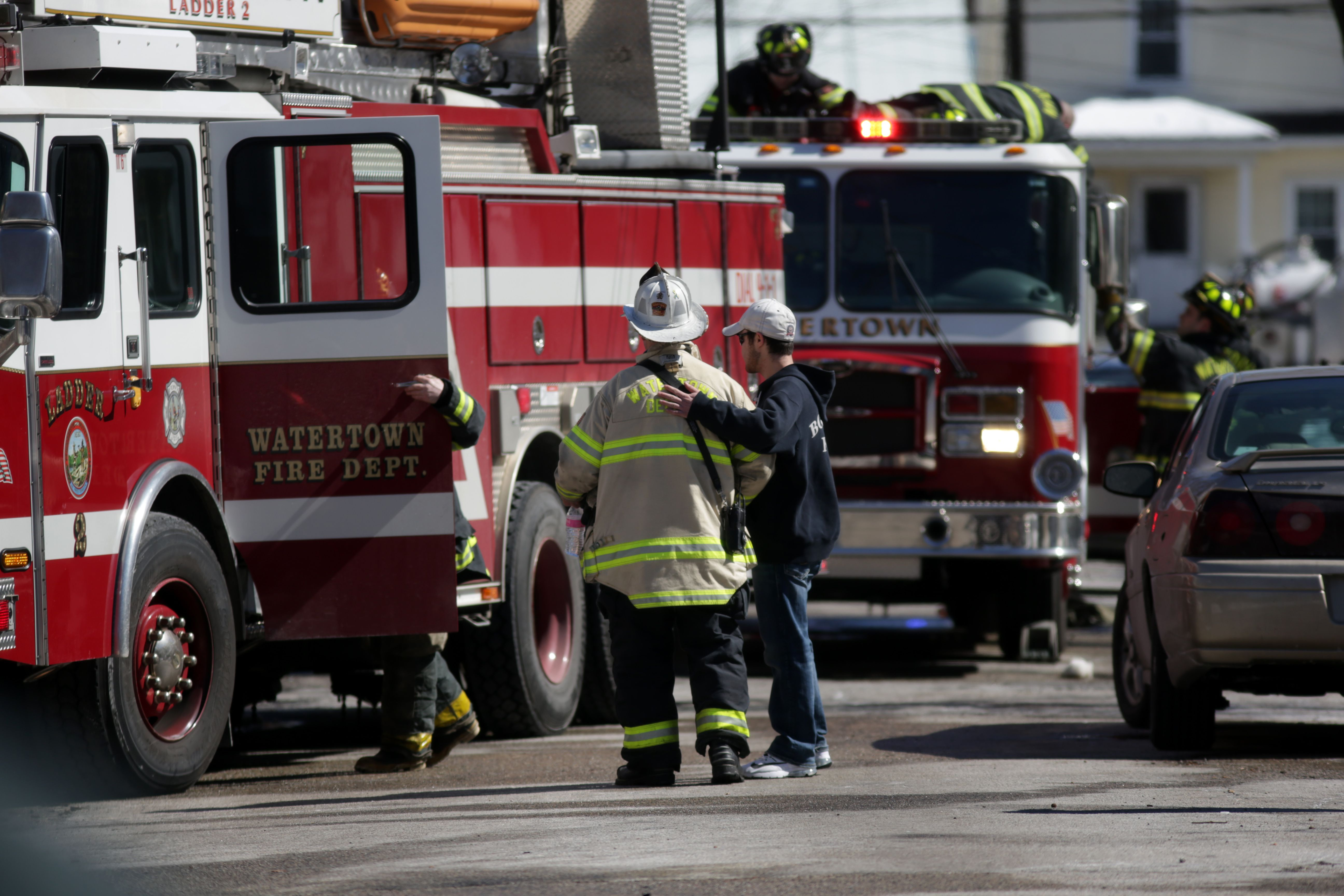 Firefighter dies after responding to Watertown blaze - The