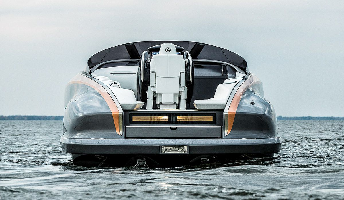 Lexus To Build A 65 Foot Yacht