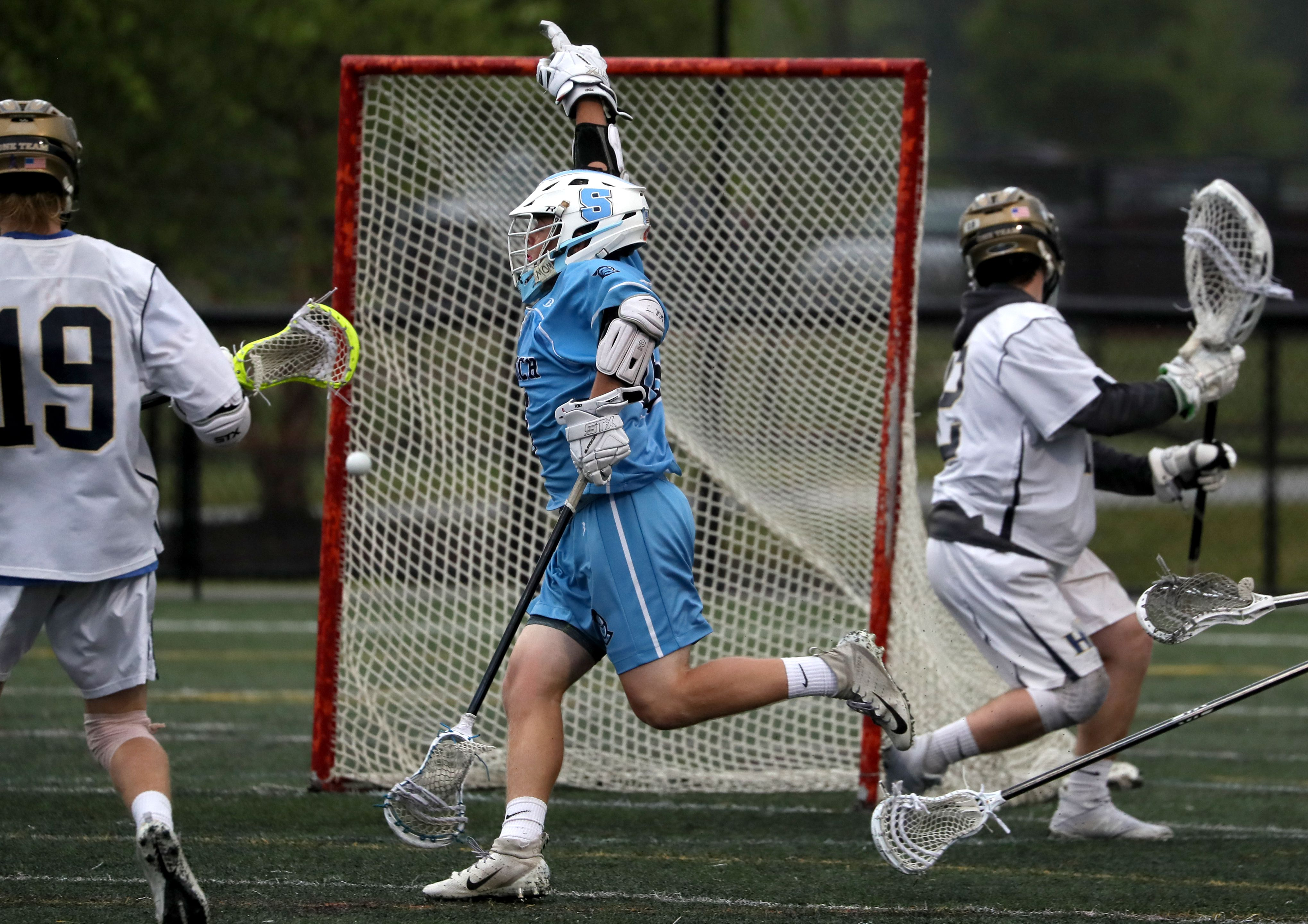 6d9ea78f4a3cc7 Medfield boys' lacrosse holds on against Concord-Carlisle - The Boston Globe