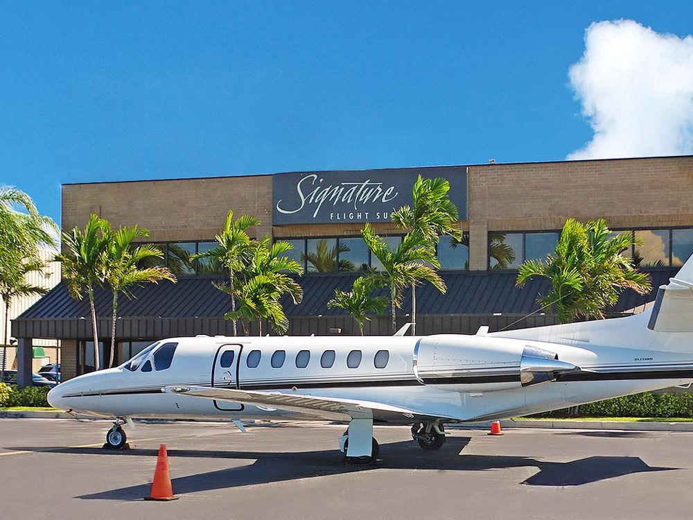 Signature Flight Support >> Signature Flight Support And Citation Jet Pilots Ink Flight Support