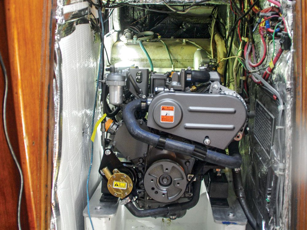 A New Engine for an Old Boat | Cruising World