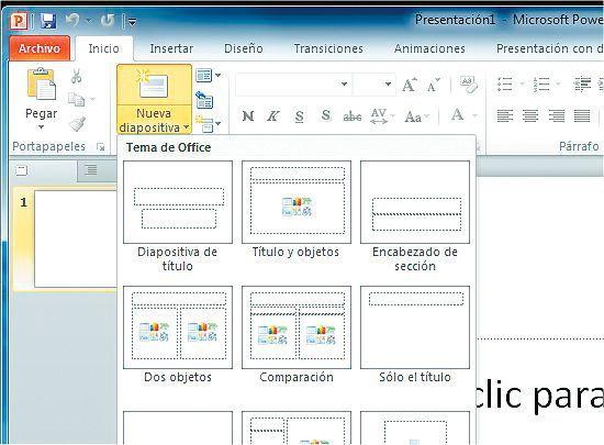 Crear Editar Y Guardar Una Presentación En Microsoft Power Point 2010 Escolar Abc Color