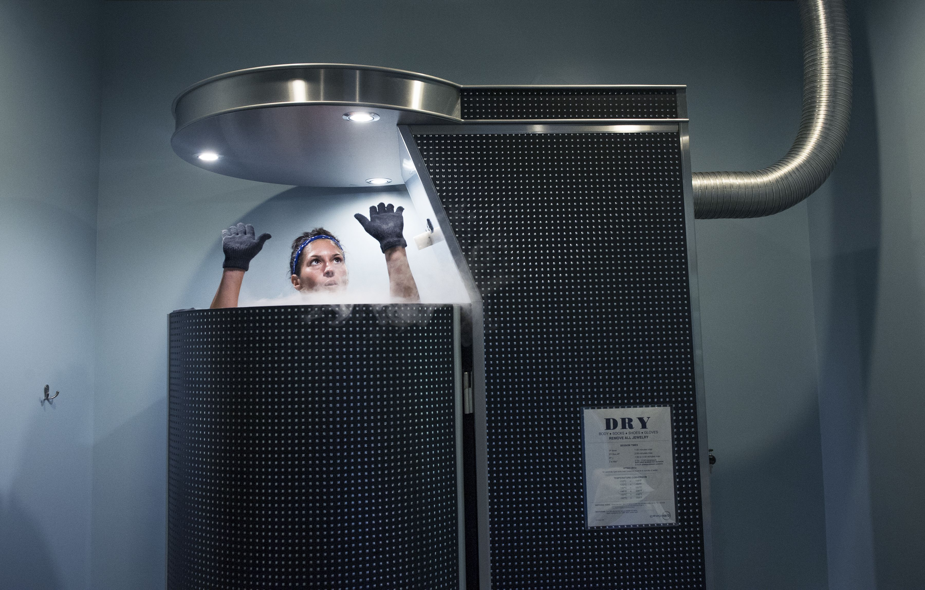 Woman's death at Nevada cryotherapy center raises safety