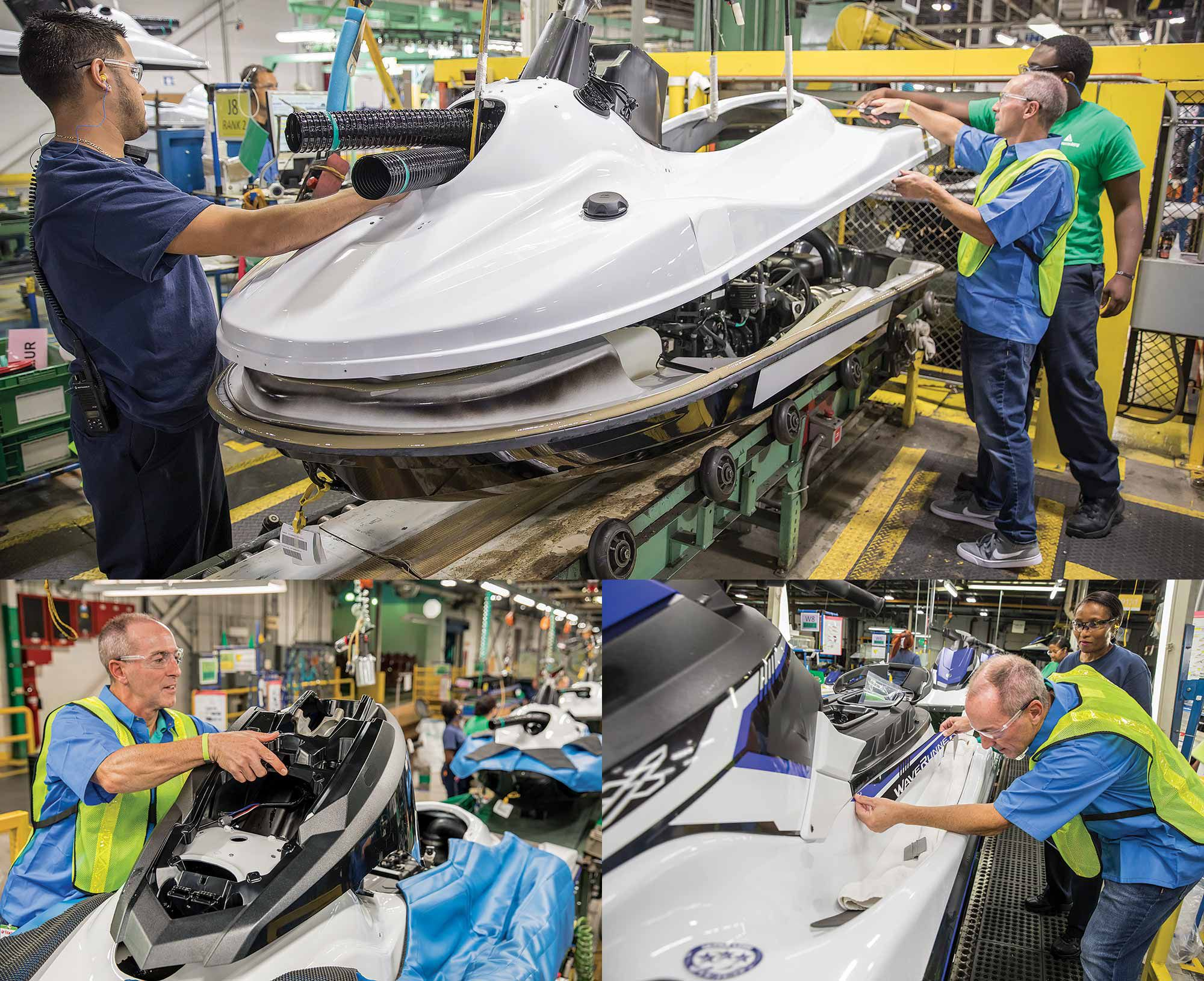 How A Yamaha Waverunner Is Built   Boating Magazine