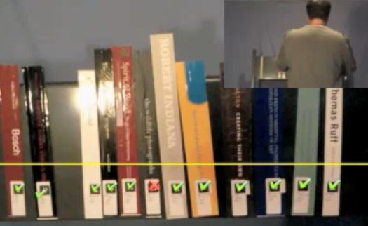 Video: Augmented Reality App For Librarians Instantly Shows Which