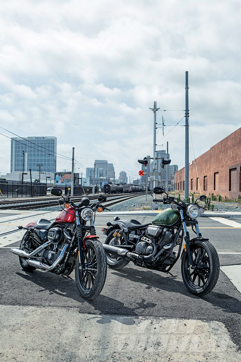2013 Yamaha Star Bolt vs  Harley-Davidson Iron 883