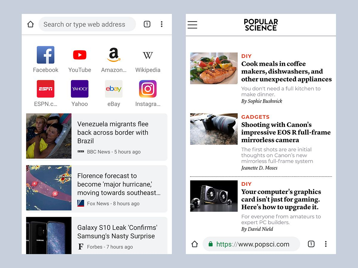 Ditch your phone's built-in web browser for these seven