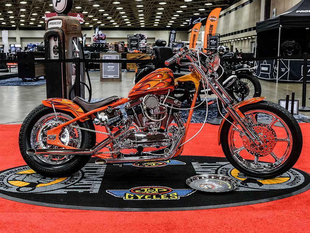 Progressive Announces Dallas Ultimate Builder Custom Bike Show