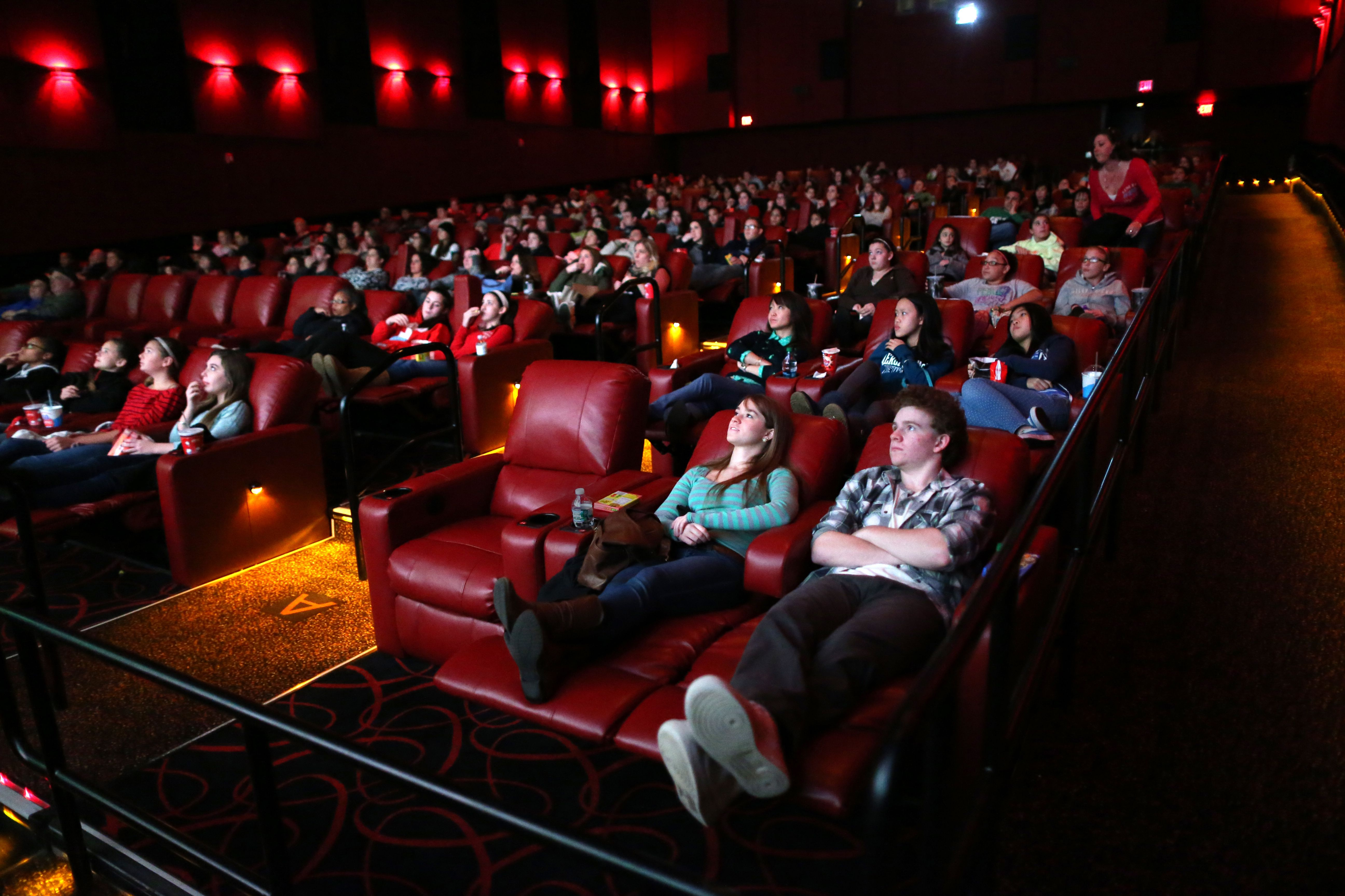 Theaters hope to lure back customers with amenities - The Boston Globe