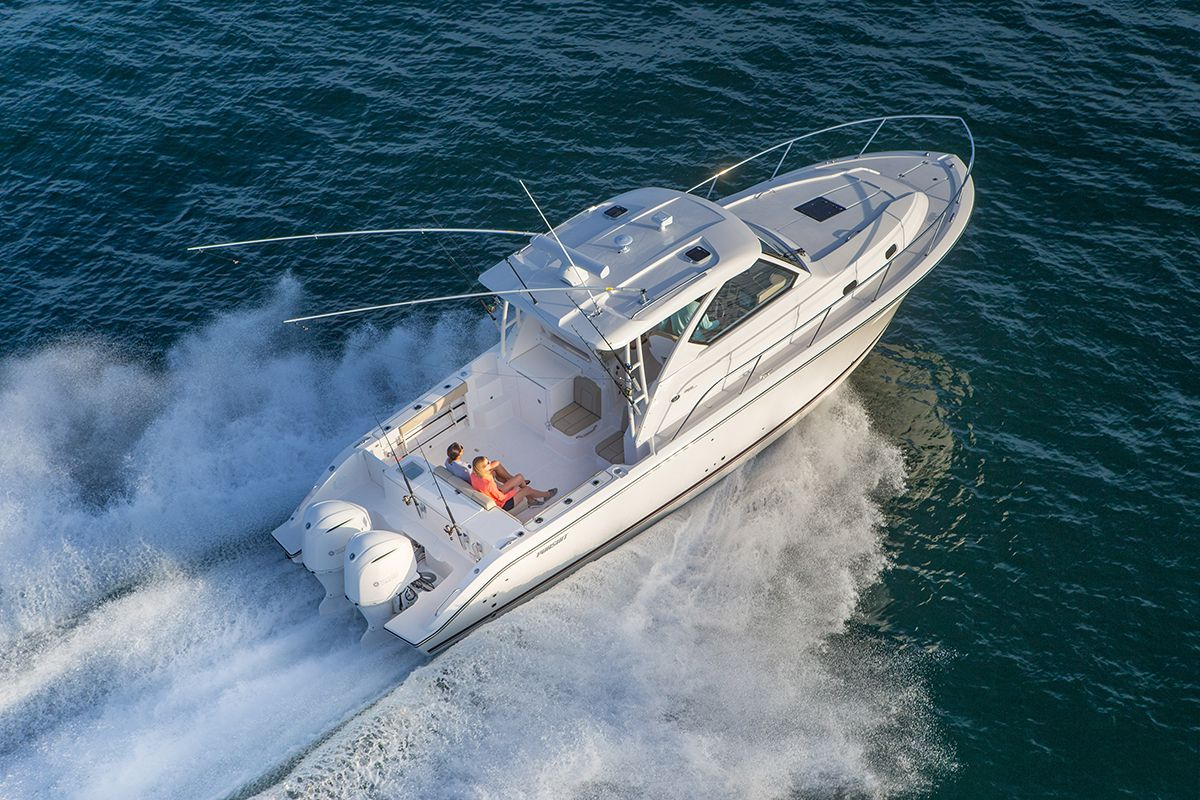 Pursuit, Fishing Boats, Tender, OS 355 | Yachting