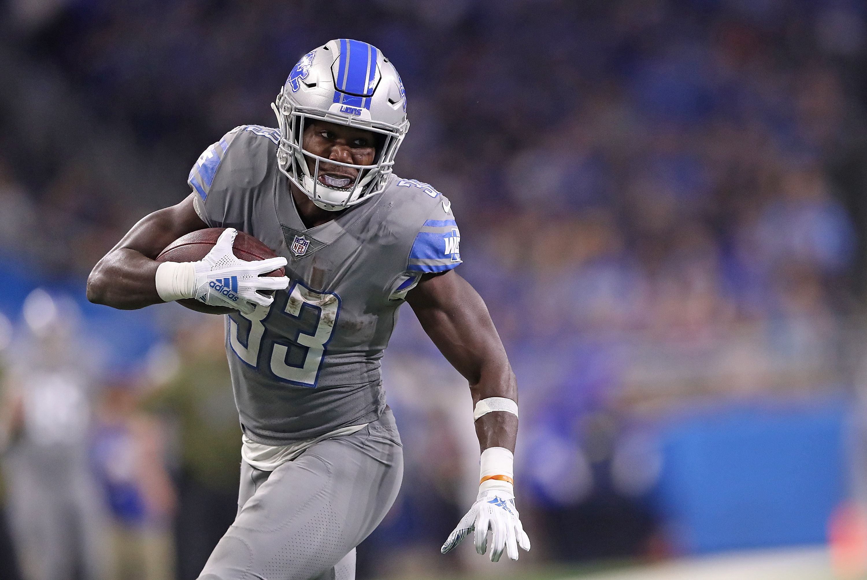 premium selection fcdcf 55a1b Can Kerryon Johnson be a bell cow for the Detroit Lions in ...