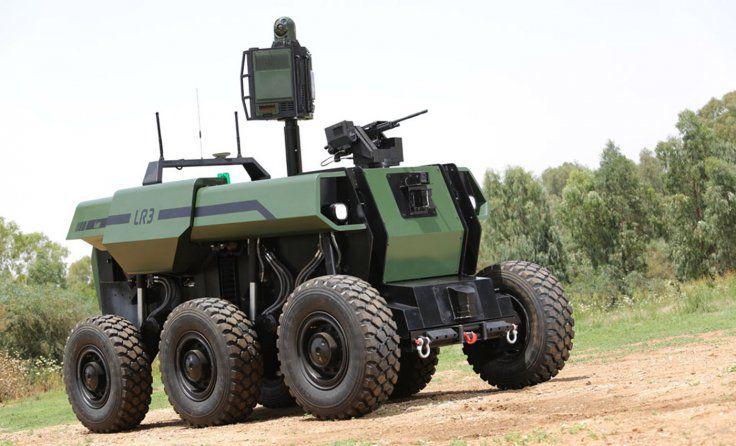 RoBattle Is Over 7 Tons Of Semi-Autonomous War Machine   Popular Science