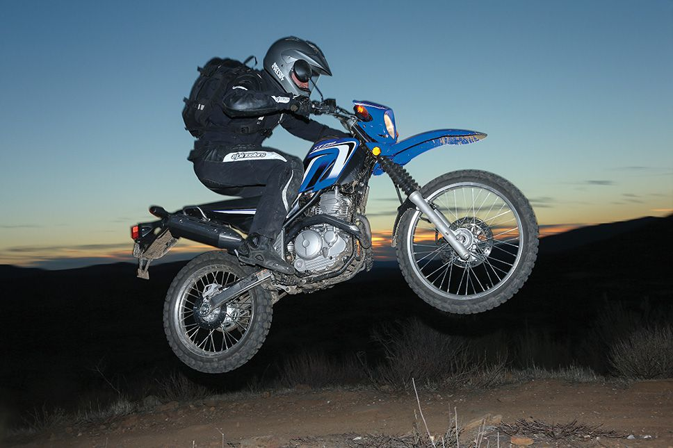 Backyard Adventure | Motorcyclist