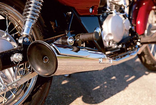 Review Of The 2001 Kawasaki Eliminator 125   Motorcycle Cruiser
