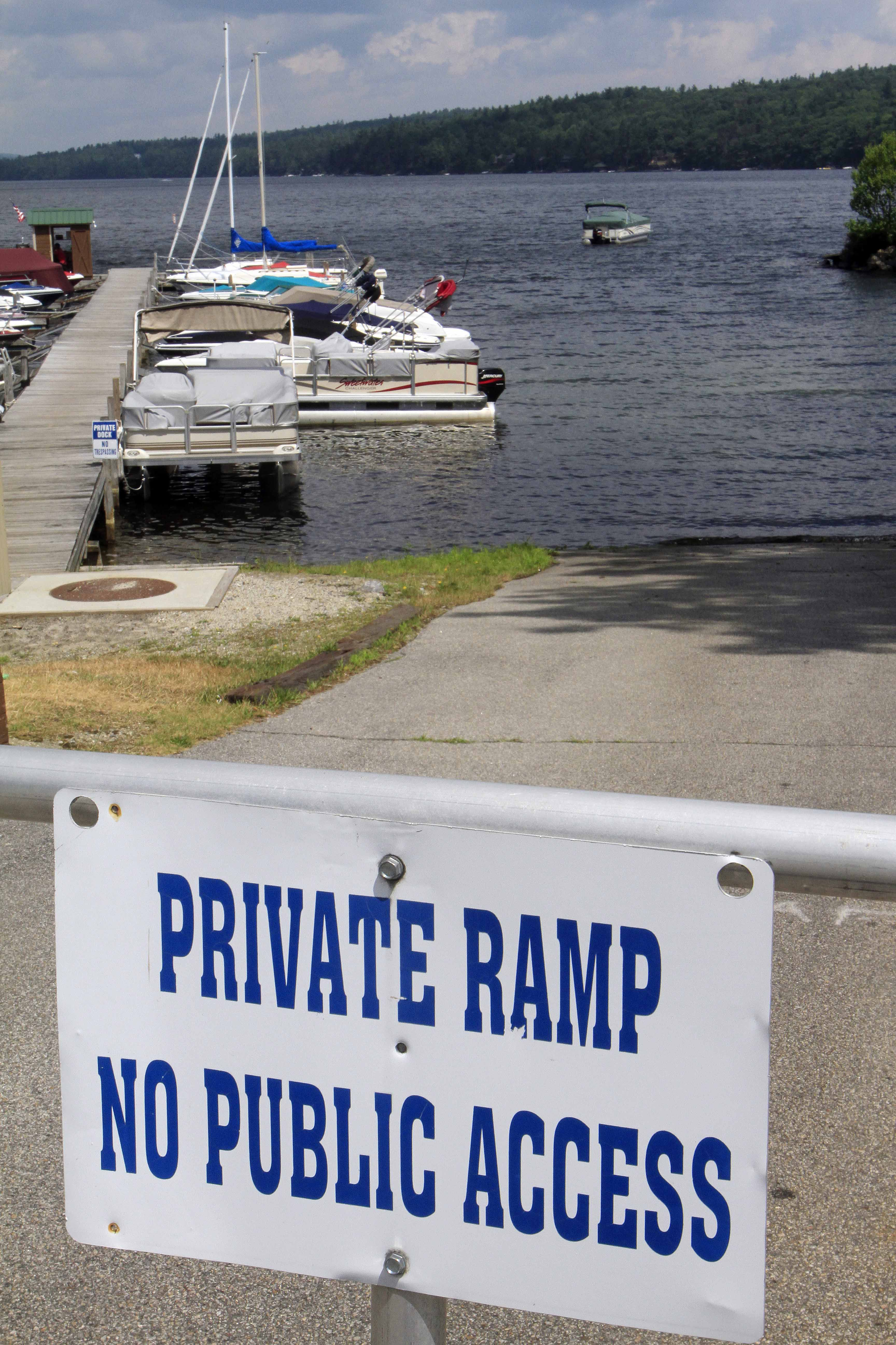 22-year fight over boat launch on N H  lake continues - The